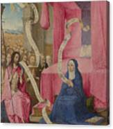 Christ Appearing To The Virgin Canvas Print