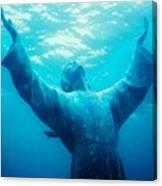 Christ At Sea Canvas Print