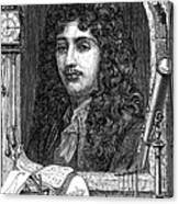 Christiaan Huygens, Dutch Polymath Canvas Print