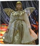 Christmas-angel Canvas Print