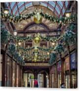 Christmas Arcade Canvas Print