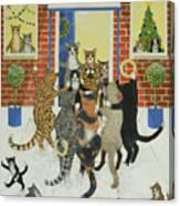 Christmas Carols Canvas Print