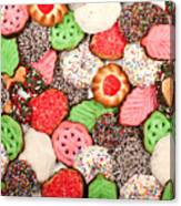 Christmas Cookies Canvas Print