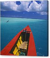 Christmas Island, Bone Fi Canvas Print