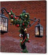 Christmas Lamps Canvas Print