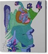 Christy's Jester Canvas Print