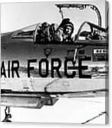 Chuck Yeager, Usaf Officer And Test Canvas Print