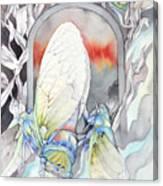 Cicada Couple Canvas Print