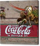 Cicada Turf War Canvas Print