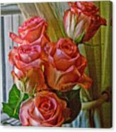 Cindy's Roses Canvas Print