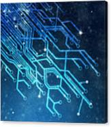 Circuit Board Technology Canvas Print