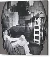 Clark Gable Mgm Sound Stage Circa 1932-2008 Canvas Print