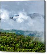 Clearing Storm West Virginia Highlands Canvas Print