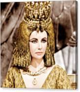 Cleopatra, Elizabeth Taylor, 1963 Canvas Print
