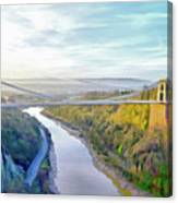 Clifton Suspension Bridge Canvas Print