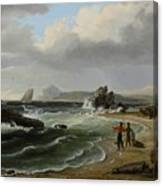 Coastal Scene Canvas Print