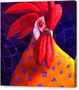 Cock A Doodle Dude Canvas Print