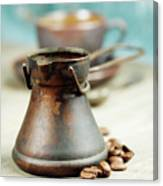 Coffee Composition Canvas Print