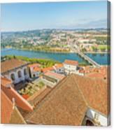 Coimbra Aerial View Canvas Print