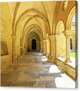 Coimbra Cathedral Colonnade Canvas Print