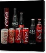 Coke From Around The World Canvas Print