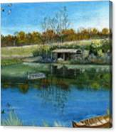 Cole Hill Pond Canvas Print