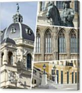 Collage Of Vienna Canvas Print