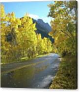 Colorado Byway Canvas Print