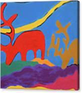 Colorful Street Art Canvas Print