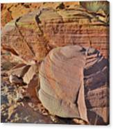 Colorful Valley Of Fire State Park Canvas Print
