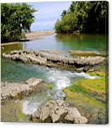 Colorful Waterway Canvas Print