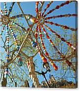 Colourful Canopy Canvas Print