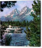 Colter Bay In The Tetons Canvas Print