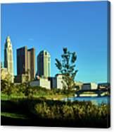Columbus Ohio Panorama Canvas Print