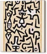 Comedians' Handbill Canvas Print