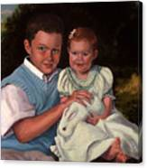 Commissioned Portrait Canvas Print