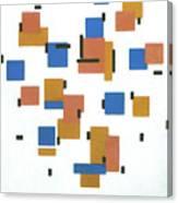 Composition With Colours Canvas Print