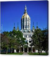 Connecticut State Capitol Canvas Print