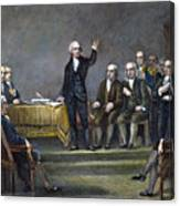 Constitutional Convention Canvas Print
