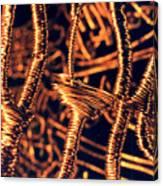 Copper Wirework Canvas Print