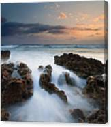 Coral Cove Dawn Canvas Print