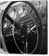 Cord Phaeton Dashboard Canvas Print