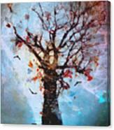 #words Like Confetti Canvas Print
