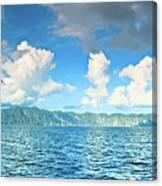 Coron Panorama Canvas Print