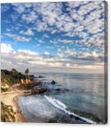 Corona Del Mar Shoreline Canvas Print