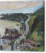 Corral Canyon View Canvas Print