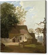 Cottage Scenery Canvas Print