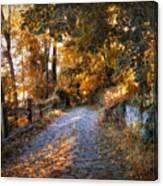 Country Cobblestone Canvas Print