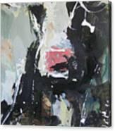 Cow Portrait Canvas Print