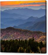 Cowee Overlook. Canvas Print